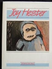 JOY HESTER BY JANINE BURKE – AUSTRALIAN ARTIST'S BIOGRAPHY-H.C/D.J/1989