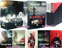 The Last Ship The Complete Series Seasons 1-5 (DVD, 15-Disc Box Set) US Seller