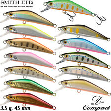 Smith D-Compact 45 3.5 g Assorted Colors Native Trout Minnow