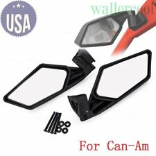 69f02c487e27 FOR 2017-2018 Can Am Maverick X3 MAX Racing Side Mirrors Left   Right  715002898
