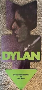 VINTAGE BOB DYLAN 1974 BLOOD ON THE TRACKS RECORD STORE DISPLAY MOBILE
