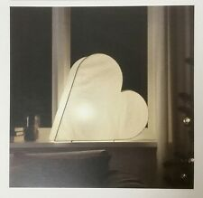 "IKEA 2017 STRALA  20""/50cm White Heart Shape Table Lamp w/Bulb NEW 504.066.44"
