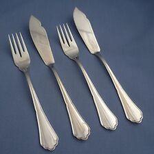 BSF - Englisch Chippendale - 2 x Fischbesteck - Fisch messer gabel, 800er Silber