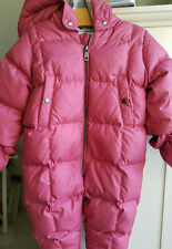 Burberry Baby Skylar Snowsuit Bunting Pink Size 9 Month (32119A)
