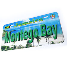 Montego Bay Jamaica Aluminum Auto Tag Novelty License Plate P01