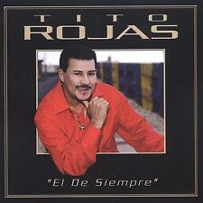 FREE US SHIP. on ANY 2 CDs! NEW CD Tito Rojas: De Siempre