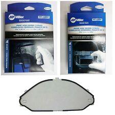 Miller Titanium Cover Lens Pkg Amp Grinding Lens 216326 216327 245818