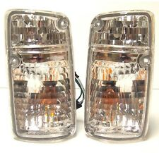 Japan version turn signal indicator blinker set pair for NISSAN Patrol 1987