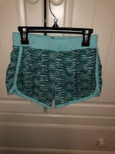 Justice Girls Green Shorts Size 10