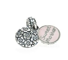 Genuine Pandora Silver Sweet Mother, CZ & Pink Enamel Charm 791285CZ