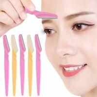 3/10pcs Eyebrow Trimmer Portable Eyebrow Razor Shaver Eye Brow Shaper Shaping