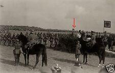 17445/ Originalfoto 9x13cm, Reichswehrparade vor Gfm Hindenburg