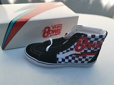 VANS David Bowie Collection SK8-HI CHECKERBOARD, Neu!, Größe 43 / UK 9 / US 10
