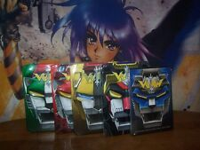 Voltron Defender of the Universe Complete 5 Head Lion Set 4 Tins DVD Anime NEW