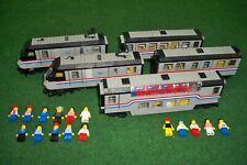 Lego Eisenbahn, 4558, 4547, Metro Liner, Club Car, Zusatzwaggon, 9 Volt Motor**