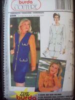 Burda Pattern 3617 Couture Vest, Skirt, Jacket, Top, Sash Tie Sizes 10-20 UC/NOS
