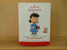 Hallmark Keepsake Happiness is Peanuts All Year Long #2 'ALL SET FOR SCHOOL' NIB