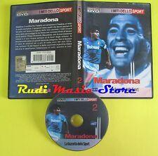 DVD MARADONA 2 i miti dello sport LA GAZZETTA 1205-0636 no vhs(D1)