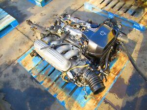 Jdm Toyota Altezza 3SGE Beams Engine 6 Speed Transmission Gen-1 3S-GE VVTI