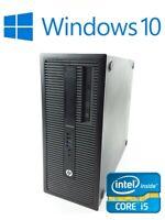 HP EliteDesk 800 G1 Intel Core i5-4570 4x 3.20GHz 256GB SSD 8GB RAM DVD-RW