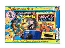 Berenstain Bears Family Time Books, Cassette Player, & Cassette NEW