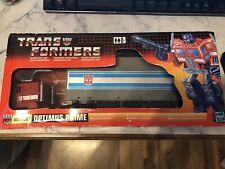 transformers g1 optimus prime Reissue 2002 Commemorative Series Box Complete