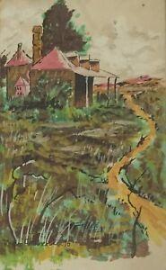 Richard Chamerski.  Original Watercolour.  A listed Australian artist.