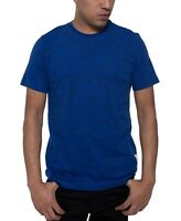 Kenneth Cole Mens T-Shirt Blue Size XL Short Sleeve Graphic Tee Quote $29 #061