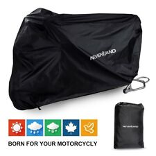 "Black XXL 104"" Dust Bike Motorcycle Cover Motorbike Waterproof Rain UV Protector"