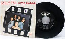 "Matia Bazar - A ""Solo tu"" B ""Per un minuto e poi"" -45 giri 7"" VG++/EX+"