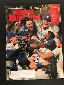 """Sports Illustrated, November 2, 1992 """"Canada's Team, The World Series Champion"""""""