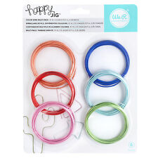 American Crafts We R Memory Keepers Happy Jig Color Wire - Colored Pack, 6-Piece
