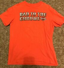 "Mens Harley-Davidson T Shirt Bad to the Chrome Avon, Ohio ""L""   Pre-owned"