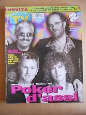 TV Sorrisi e Canzoni n°27 2002 Pino Daniele Ron Mannoia De Gregori  [G586]