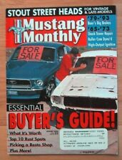 MUSTANG MONTHLY 2000 AUG - TIPS ON BUYING A VINTAGE