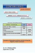 Contabilidad para Todos by Lic. H. A. Rodríguez Brito (2010, Paperback)