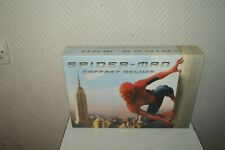 COFFRET DELUXE DVD  SPIDER MAN + STAN LEE DVD COMIC BOOK  LITHOGRAPHIE SENITYPE