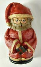 Petlitz 1989 Folk Art Santa Ornament Signed Handmade
