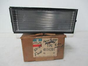 Mopar NOS 1982-85 Dodge 400 600, LeBaron, NY, Left Turn Signal Lamp ASSY 4174201