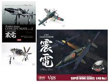1/48 J7W1  Imperial Navy Interceptor Shinden & SWS  Shinden Concept Note set