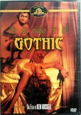 DVD Gótico por Ken Russell 1986 Nuevo