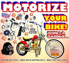 Most Powerful 66cc/80cc 2-Stroke Motorized Bike Kit For Your Own Bicycle