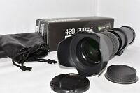 Canon EOS DSLR DIGITAL fit 420 800mm zoom lens 1200D 1300D 2000D 4000D and MORE