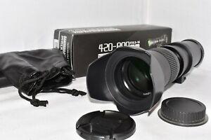 Nikon DIGITAL DSLR fit 420 800mm zoom lens D3100 D3200 D3300 D3400 D3500 & MORE