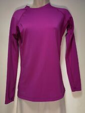 Nike Purple Pro Combat Long Sleeve Training Top / T-Shirt - Size S (678g)