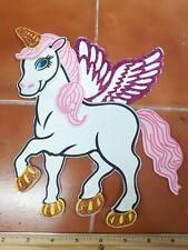 "Fantastic UNICORN 8"" Baby Shower/Birthday foam for decoration DIY - Girl 10 pcs"