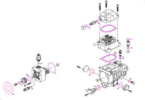 Joints pour pompe à injection BOSCH BMW/AUDI/OPEL/VOLKSWAGEN/VW/RENAULT/GOLF TDi