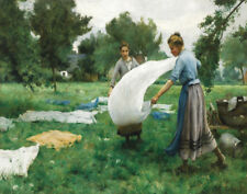 Dupre Therese Washing Canvas 16 x 20 #7411