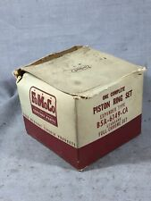 Ford y-block piston rings 1953-1955 239 V8 STD B5A-6149-CA NOS