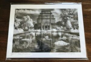 """Infrared Photograph 5 X 7"""" Russell Grace Kullmann JEWEL BOX St. Louis, MO"""
